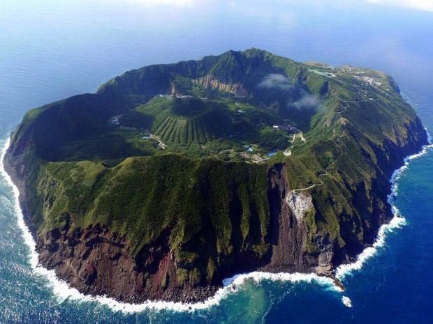 Aogashima Volcano Japan