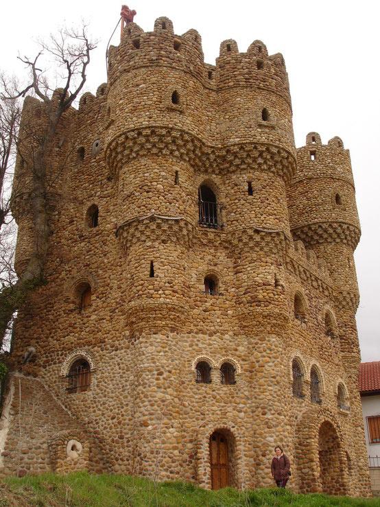 Castillo de La Cueva Cebolleros Burgos Spain