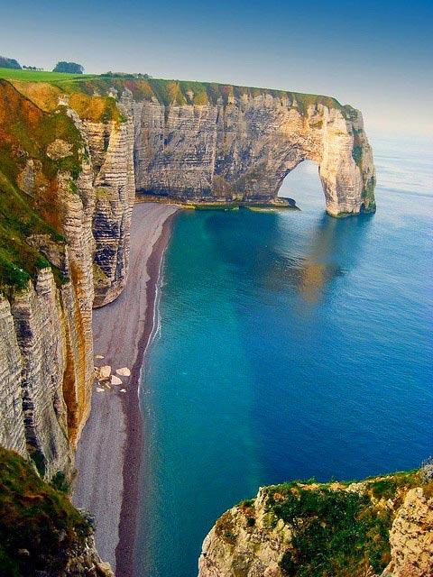 Sea Cliffs Etretat France