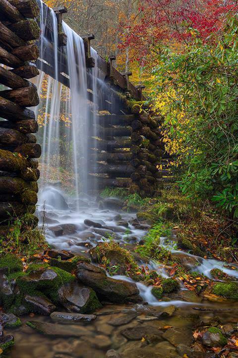 The Mingus Mill Blue Ridge Mountains North Carolina