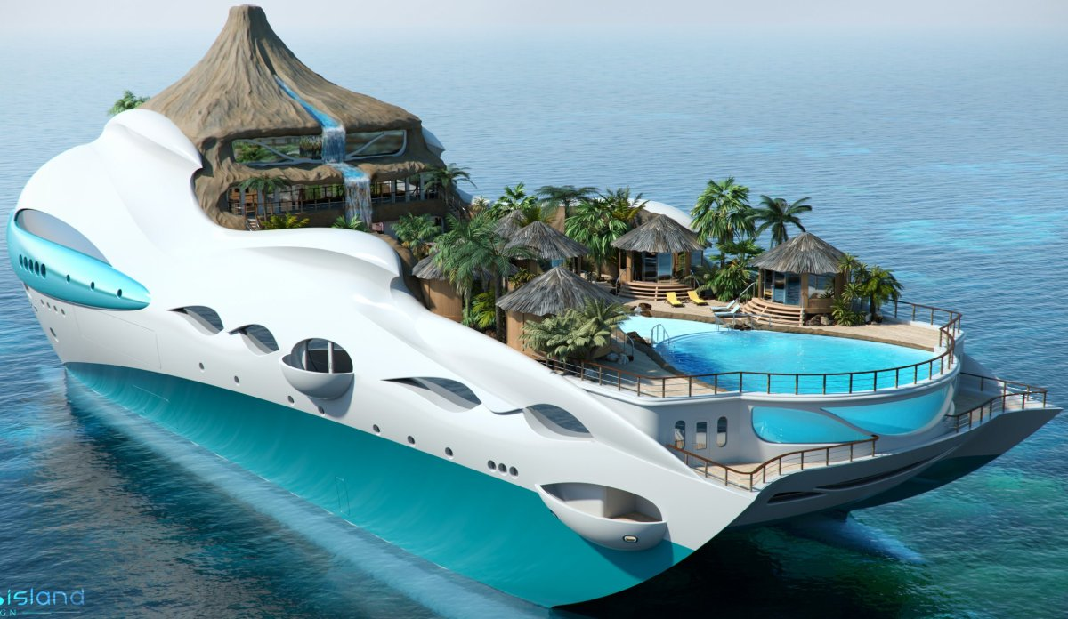 Tropical Island Yacht